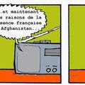 Georges et les militaires français en afghanistan