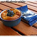 FLAN AUX BLUEBERRIES SECHEES