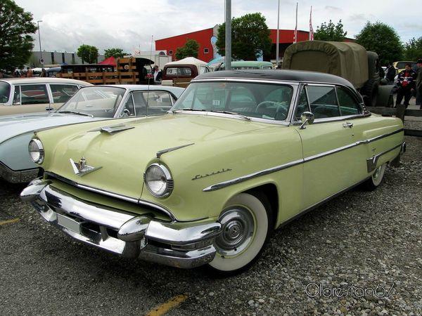lincoln capri hardtop coupe 1954 a