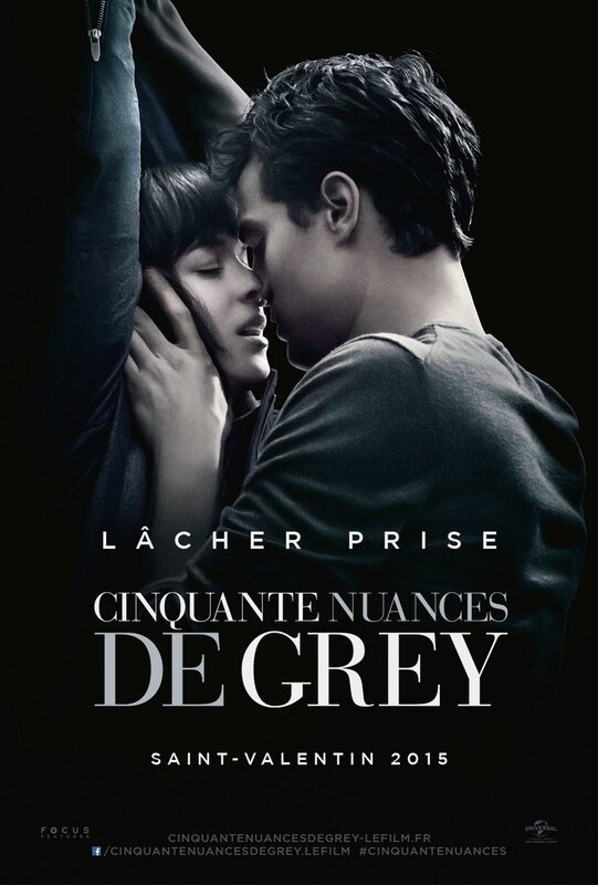 Cinquante Nuances de Grey movie poster