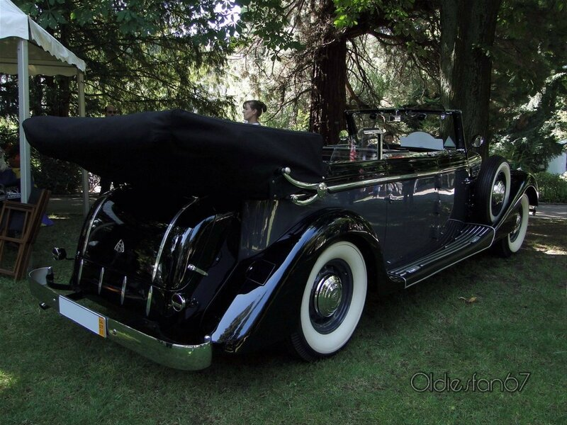 maybach sw38 cabriolet 1939 b