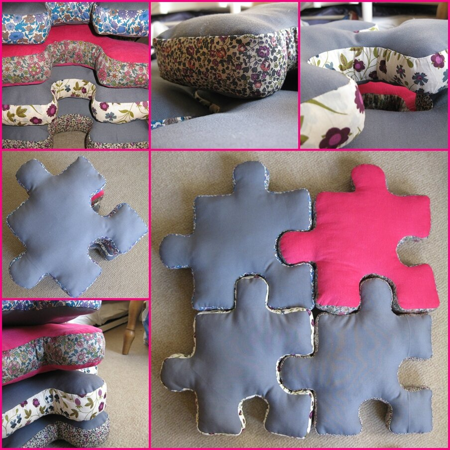 Coussins puzzle   made by bazet