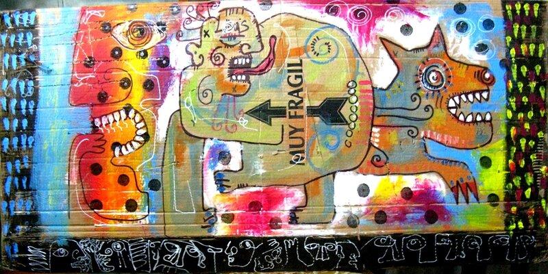 CADORE sans titre 2010 60 x 81