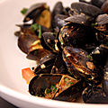 Moules  la chermoula