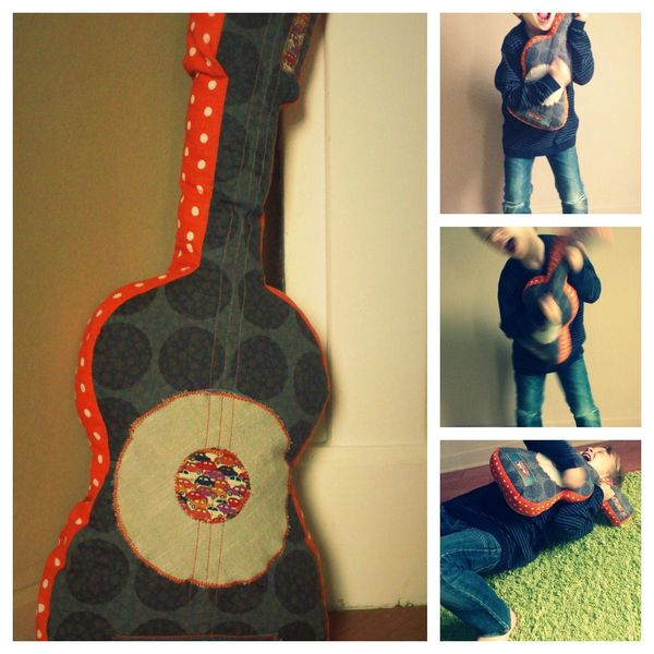 collage guitare