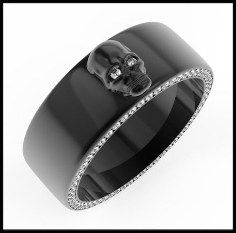 divinescence collection skull bague 1