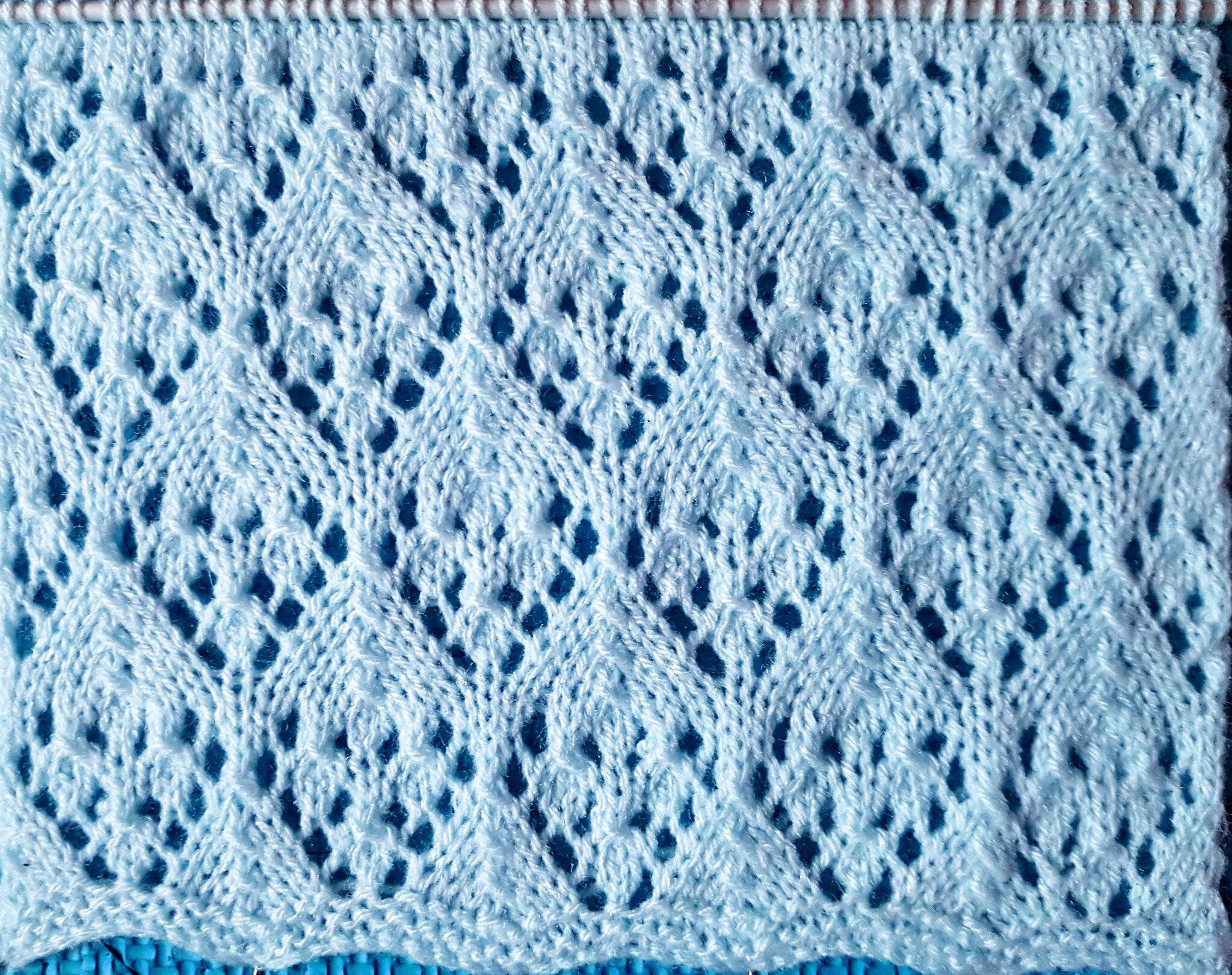 Tricot choupie tricote - Point tricot ajoure facile ...