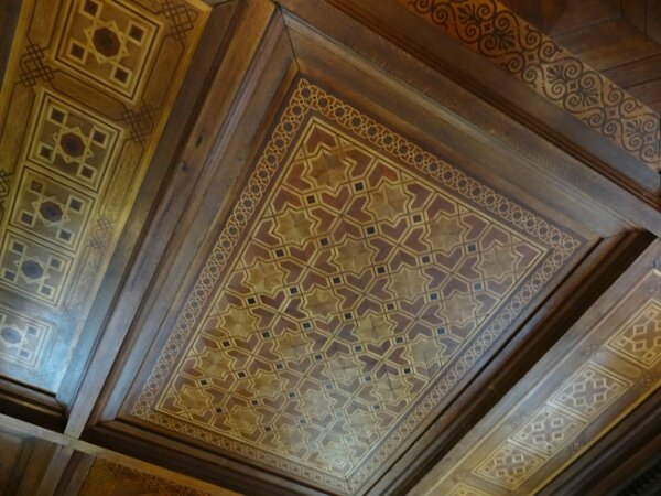 Plafond marqueterie