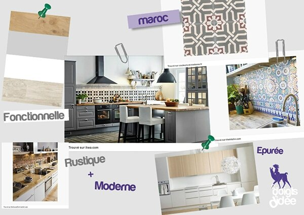 moodboard kitchen 2ddd - Veddinge Gris