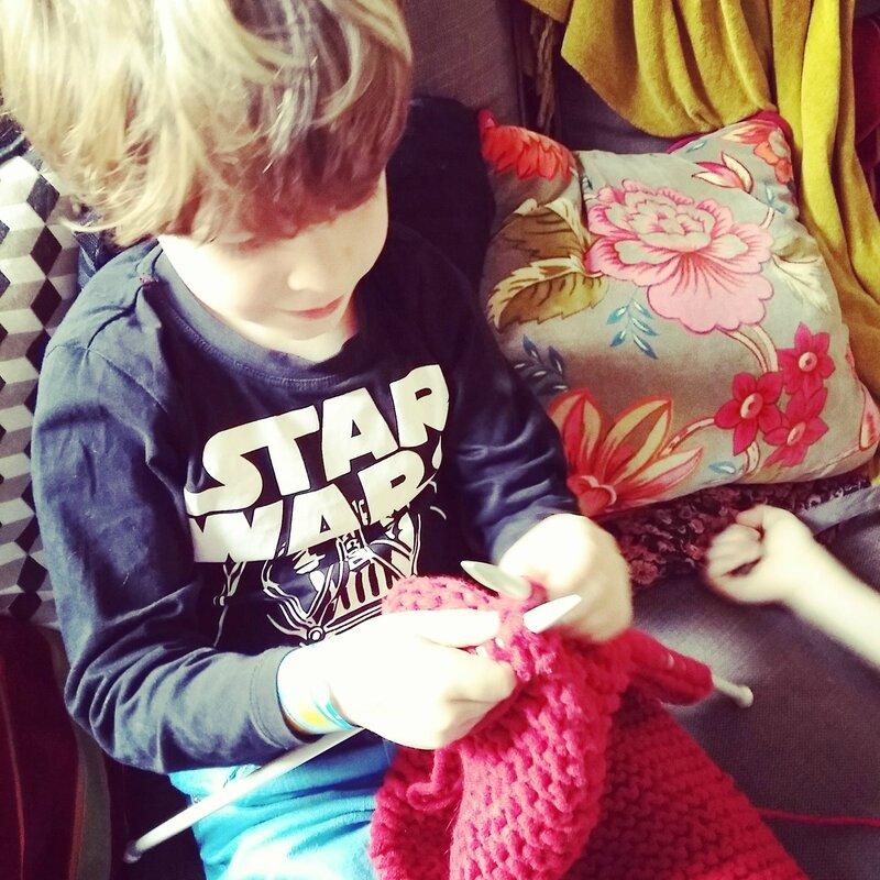 Leçon de tricot (1)