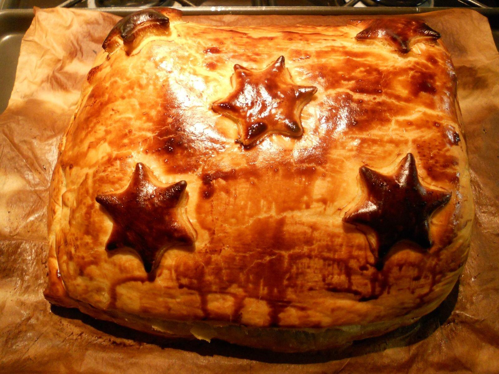 Filet de boeuf en croûte au foie gras, morilles et truffe