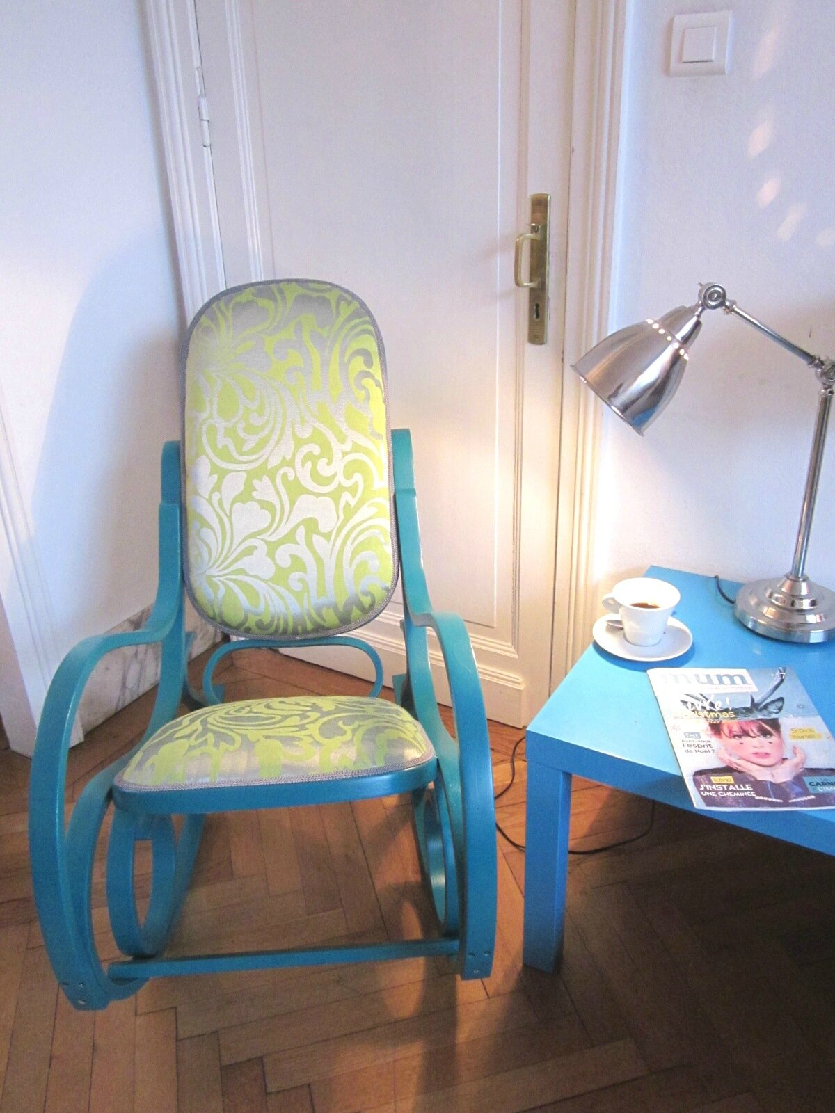 Un Rocking Chair Fa On Peps Ma Bulle