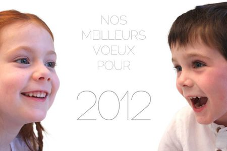 VOEUX 2012 - Fond blanc xs