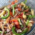 Salade de boeuf cru mariné à la néo-calédonienne