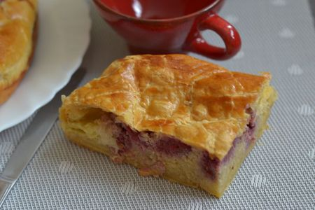 Pithiviers aux framboises (23)