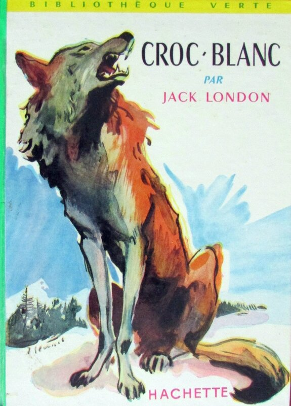 Livre Croc Blanc 1965 Jack London