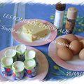 Soufflés au fromage et aux petits suisses