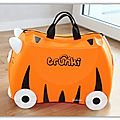 { god save the kids } valise trunki