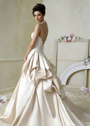 Provocative Low Back Wedding Dresses - 2013 Bridal Gowns