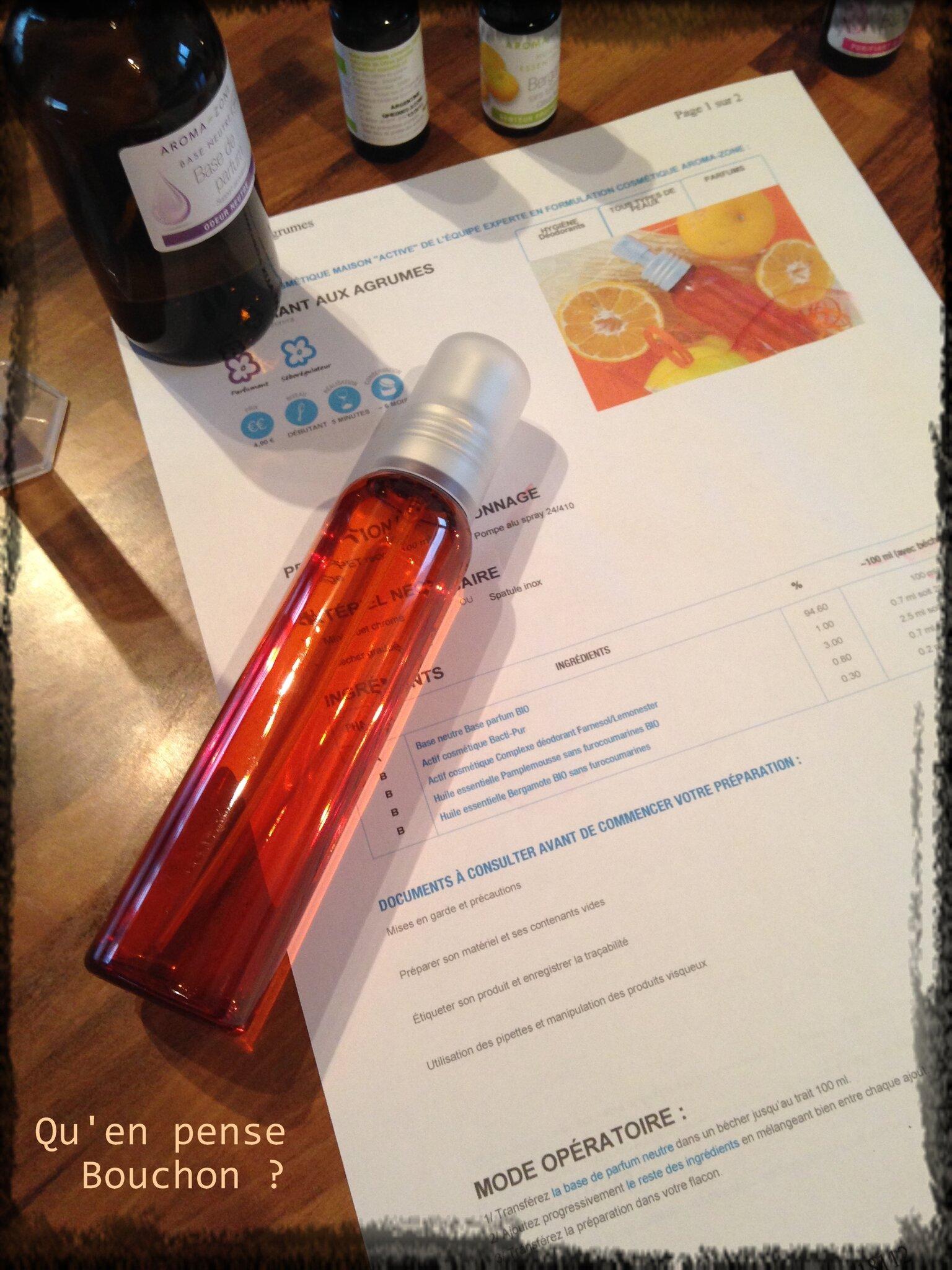 Déodorant aux agrumes maison - recette Aroma-Zone