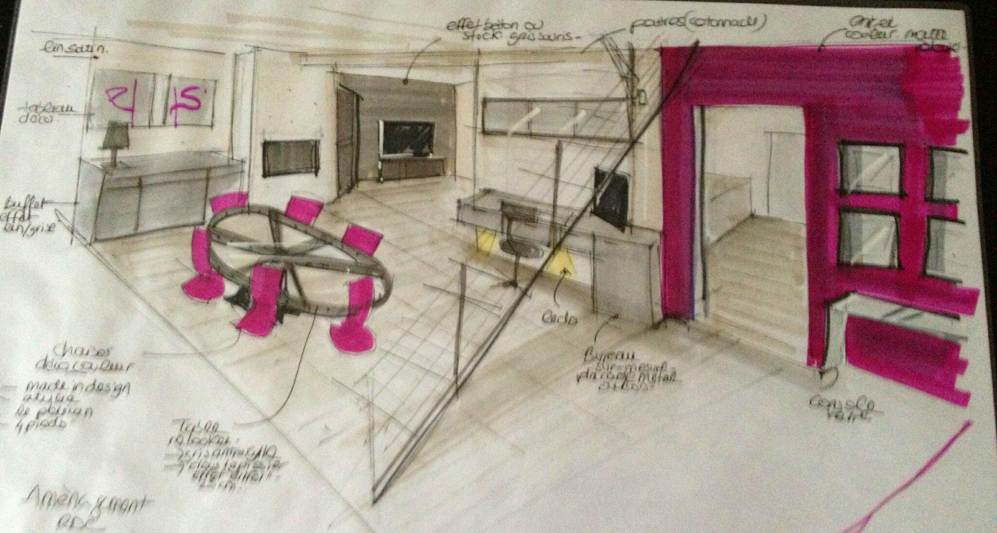 Am nagement d 39 un salon barbizon 77 pinkspace for Amenagement d un salon