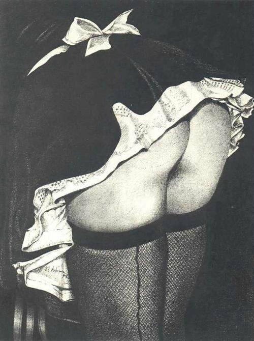french maid pas un jour sans fessee