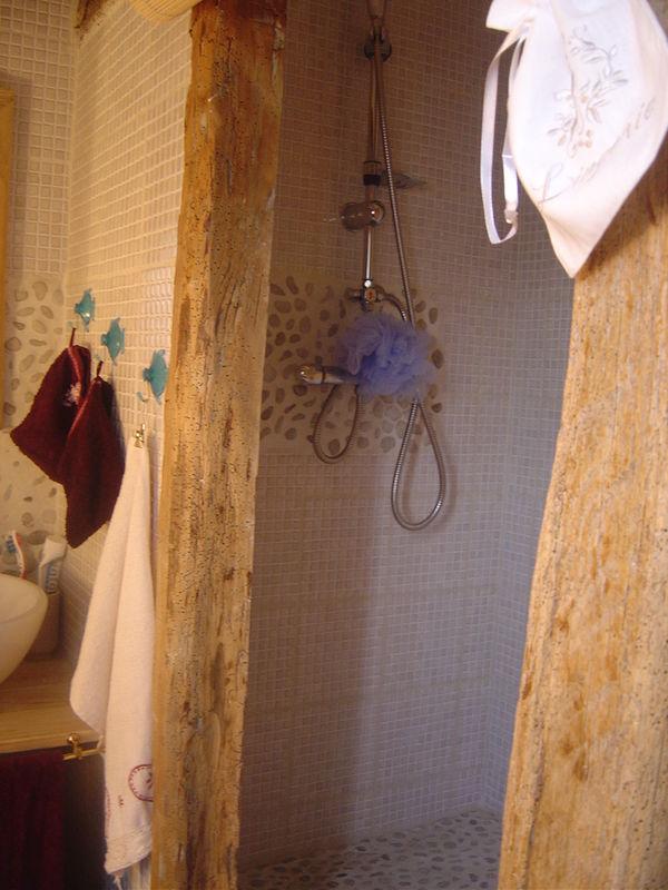 Le coin douche de ma suite parentale
