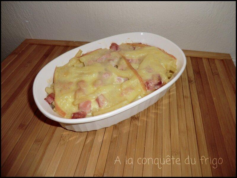 gratin pâtes raclette