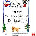 Tournoi d'archerie à montdenis