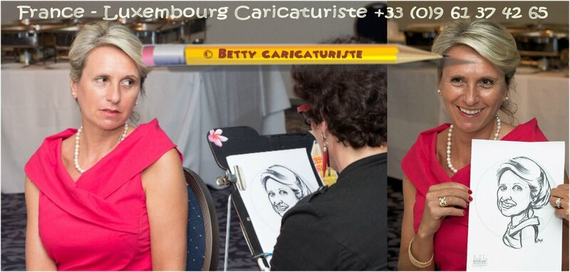 Caricaturiste luxembourg caricature animation mariage