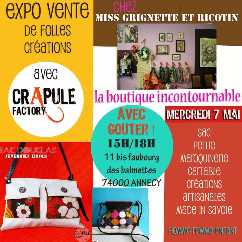 expo annecy grignette et ricotin