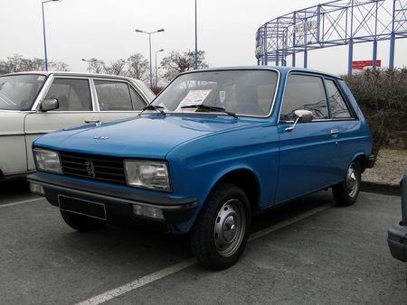 PEUGEOT 104 ZL Coupe 1976 1979 Salon Champenois du Vehicule de Collection de Reims 2010 1