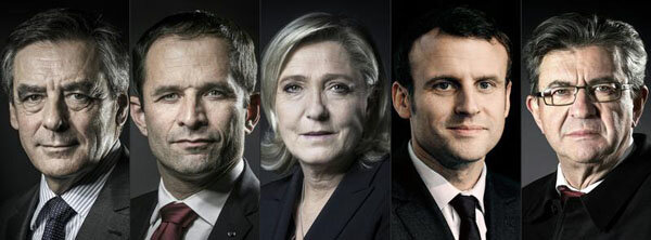 Candidats présidentielle 2017