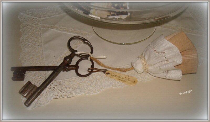 gland coton, dentelle et Toile a Matelas