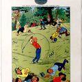 Une affiche pour un club de golf qui en rappelle une autre...
