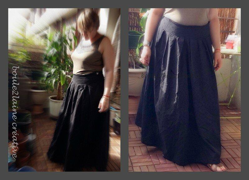 maxi jupe noire 2016