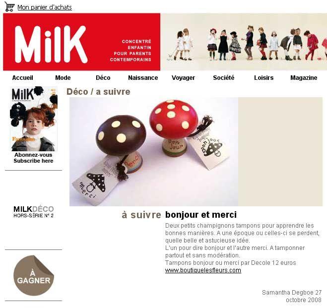 milk octobre 08