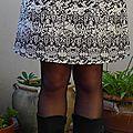 Une jupe elégante modifiée .