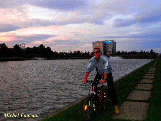 2) parc technologique à VTT, le lac des Perches