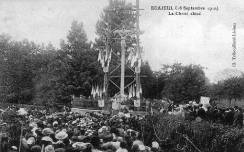 Ecajeul - Inauguration du calvaire