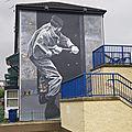 Bogside Mural - Motorman