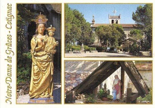 La chapelle Notre-Dame de Grâces à Cotignac