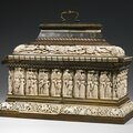 Embriachi workshop, north italian, late 15th century and later, casket