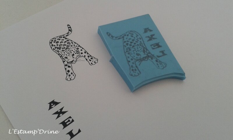tampon gomme guepard