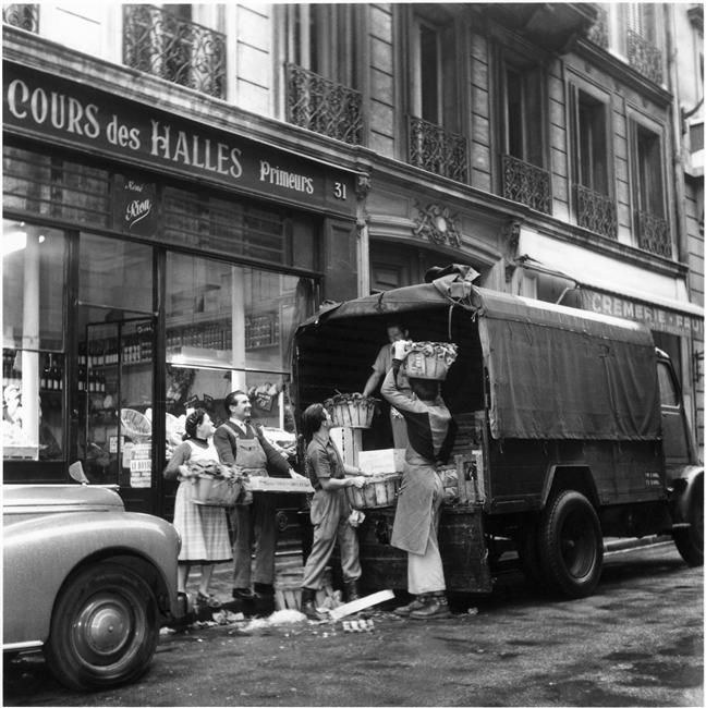 denise colomb les halles de paris 9