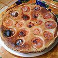 Tarte Abricots-Amandes