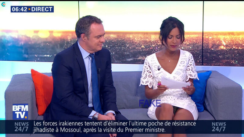 Aurélie Casse, petite culotte