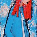 portrait de femme hortence