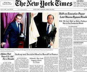 NYT frontpage