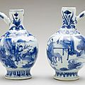 Pair of ewers, china, ming dynasty